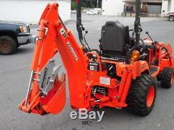 2013 Kubotra Bx25d Tractor Loader Backhoe With 95 Hours And Extras