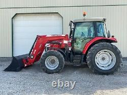 2013 MASSEY FERGUSON 5610 DYNA-4 TRACTOR With LOADER, CAB, 4X4, 540 PTO, 1825 HRS