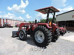 2013 Mahindra 6530 Tractor With Front Loader John Deere Good Condition