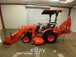2014 B2650hst Kubota Tractor With A Canopy