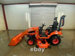 2014 Bx2370 Tractor Loader With Orops, 4wd, Hydrostatic Transmission