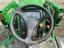 2014 JOHN DEERE 1025R TRACTOR With LOADER, 4X4, 540 PTO, HYDROSTATIC, 169 HOURS