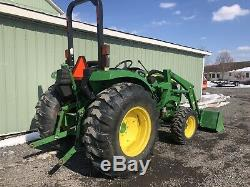 2014 John Deere 4044m 4x4 Diesel Compact Tractor / Loader Only 191 Hours. Clean