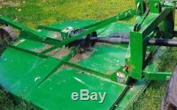 2014 John Deere 5055E Tractor Attachments Loader Grader Back Hoe Tilt Trailer