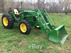 2014 John Deere Tractor Diesel 4-wheel 5100e withloader EXCELLENT CONDITION