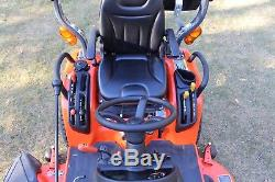 2014 KUBOTA BX2370 TRACTOR, 4WD, 60in BELLY MOWER, HYDRO, VERY CLEAN 138 HRS