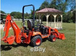 2014 KUBOTA BX25D Compact Tractor
