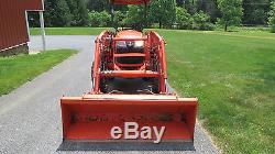 2014 KUBOTA L3800 4X4 COMPACT TRACTOR With LOADER HYDRO 678 HRS 38HP DIESEL