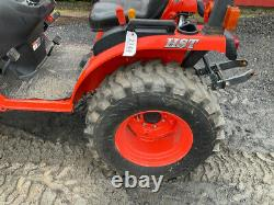 2014 Kubota B2620 4x4 26Hp Hydro Compact Tractor with Loader Only 178Hrs