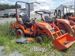 2014 Kubota BX25D Tractor Loaders