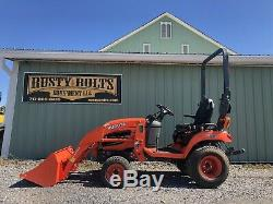 2014 Kubota Bx2670 4x4 Diesel Compact Tractor Clean! 162 Hrs Cheap Shipping