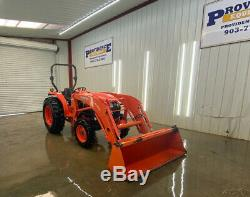 2014 Kubota L4600 Hst 4wd Tractor Loader With Quick Attach Bucket