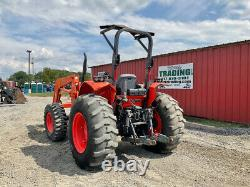 2014 Kubota M7060 4x4 70Hp Utility Tractor with Loader & Hydraulic Shuttle