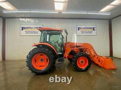 2014 Kubota M9960d Cab 4wd Tractor With A/c And Heat