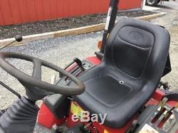 2014 Mahindra Max 28XL 4x4 Compact Tractor with Loader