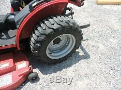 2014 Mahindra Max25 Tractor / Mower / Loader! 4x4 Only 281 Hours