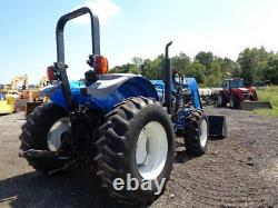 2014 New Holland TS6.110 Tractor, 4WD, 835TL Front Loader, Power Shuttle