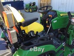 2015 John Deere 1025R Utility Tractors