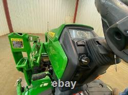 2015 John Deere 1025r Orops Hst Diesel Tractor Loader