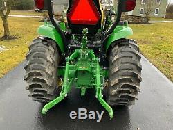 2015 John Deere 3033R Tractor H165 Loader eHydro Transmission