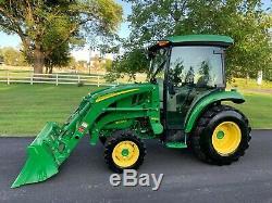 2015 John Deere 3039R Tractor Loader Factory Cab