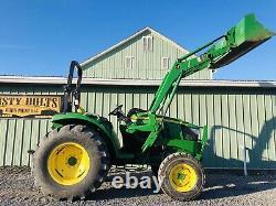 2015 John Deere 4044m 4x4 Diesel Tractor Loader Clean! Low Cost Shipping