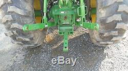 2015 John Deere 4052M Utility Compact 51fp Dsl Tractor 4x4 R4 Tires Loader Hydro