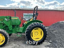 2015 John Deere 5045E 4x4 48hp Utility Tractor with Loader CHEAP
