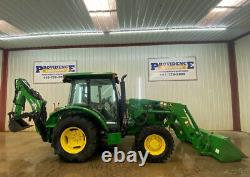 2015 John Deere 5055e Tractor With Cab, A/c And Heat, 4x4