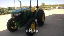 2015 John Deere 5075E Utility Tractors