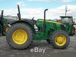 2015 John Deere 5100M 4WD Tractors