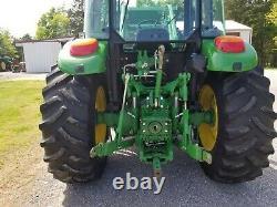 2015 John Deere 5100m tractor 100 HP No Def 4wd loader