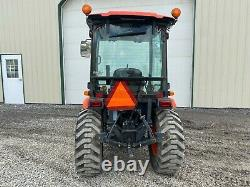 2015 KUBOTA B3350 TRACTOR With LOADER, CAB, 4X4, 540 PTO, 3 POINT, HVAC, 232 HOURS