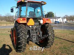 2015 Kubota M 6060 4x4 Cab Tractor With Power Shuttle