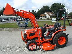2015 Kubota B2620 4x4 / Loader / Belly Mower / Nationwide Shipping Available