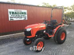 2015 Kubota B3350 4x4 Diesel Hydro Compact Tractor Only 500Hrs