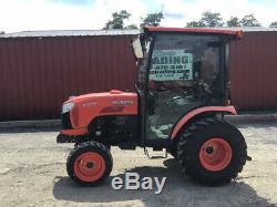 2015 Kubota B3350 4x4 Hydro Compact Tractor with Cab One Owner Only 1000Hrs