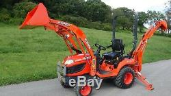 2015 Kubota Bx25d 4x4 Tractor With Loader And Backhoe