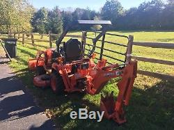 2015 Kubota Bx25d Tractor Loader Backhoe, Mower And Extras