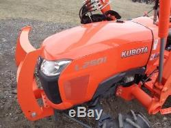 2015 Kubota L2501 Used