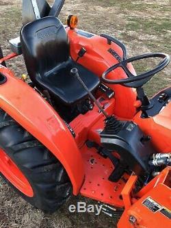 2015 Kubota L3301 Tractor Loader, 4wd, Diesel, Hst, Pto