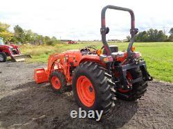 2015 Kubota L4701 Tractor, 4WD, LA765 FL SSL QA Front Aux Hydraulics, 101 Hours