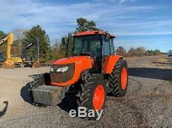 2015 Kubota M108S Farm Tractor MFWD