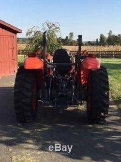 2015 Kubota M5660SUHD Tractor 4WD 60HP Diesel Engine 10' Bush Hog MARYLAND