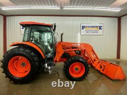 2015 Kubota M9960 Cab 4wd Tractor With A/c And Heat