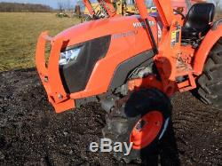 2015 Kubota MX5200 Tractor, 4WD, LA1065 FL SSL QA, Hydro, R1 Tires, 634 Hours