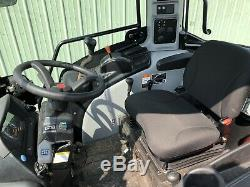 2015 Mahindra 3540p- Pst 4x4 Tractor Loader Enclosed Cab 40 HP Only 5 Hours
