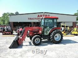 2015 Mahindra 5010 Tractor & Loader! Enclosed Cab Only 535 Hours