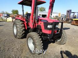 2015 Mahindra 5545 Tractor, 4WD, 245 FL with SSL QA, 1 Rear Remote, R4, 255 Hours
