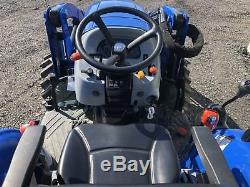 2015 New Holland Boomer 41 Compact Tractor Loader 41hp. Low Hours. Cheap Ship